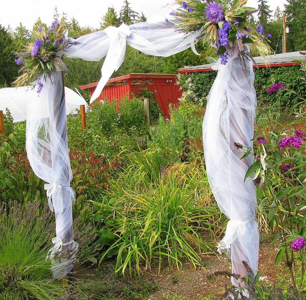 Persephone farm make your wedding bloom for Arbor wedding decoration ideas