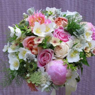 Wedding Nosegay local flowers